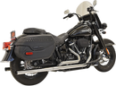 Bassani Straight Dual Exhaust System - Hardcore Cycles Inc
