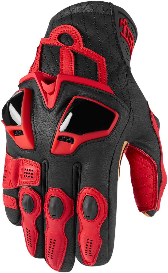 Icon Hypersport™ Short Gloves - Hardcore Cycles Inc