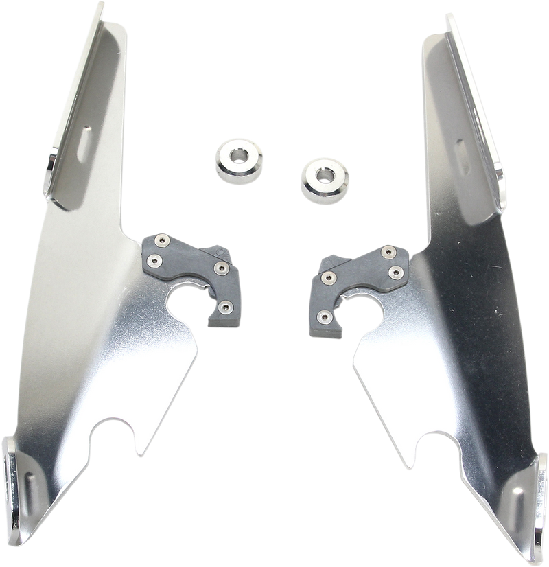 Memphis Shades Gauntlet Fairing Trigger-Lock Plate Only Kit - Hardcore Cycles Inc