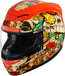 Icon Airmada™ Dia De Los Muertos Helmet - Hardcore Cycles Inc