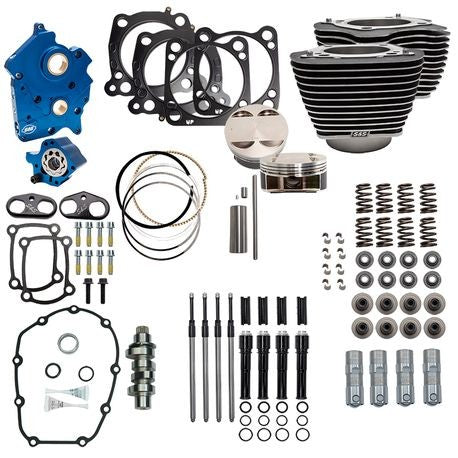 S&S M8 Power Package Kit Milwaukee 8 124""