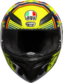 AGV K1 Helmet — Soleluna 2015 - Hardcore Cycles Inc