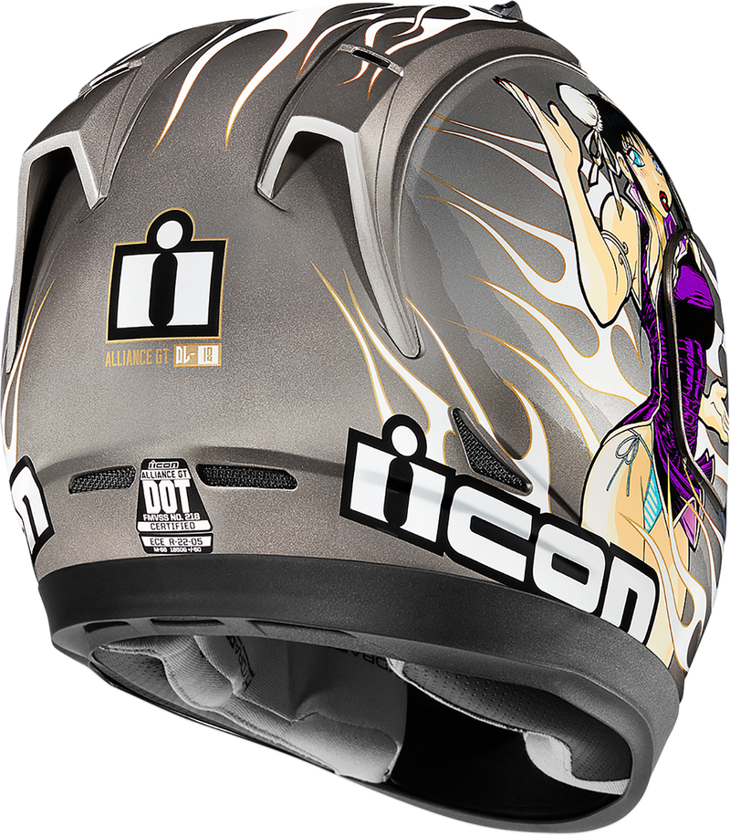 Icon Alliance GT™ DC18 Helmet — DL18 - Hardcore Cycles Inc
