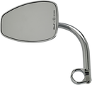 Biltwell Utility Mirror — Chrome, Clamp-On - Hardcore Cycles Inc