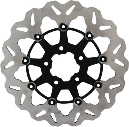 Galfer DF680CW-B Front Brake Rotor Full Floating - Hardcore Cycles Inc