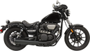 Bassani Black Slip-On Megaphone Muffler for Yamaha Bolt - Hardcore Cycles Inc