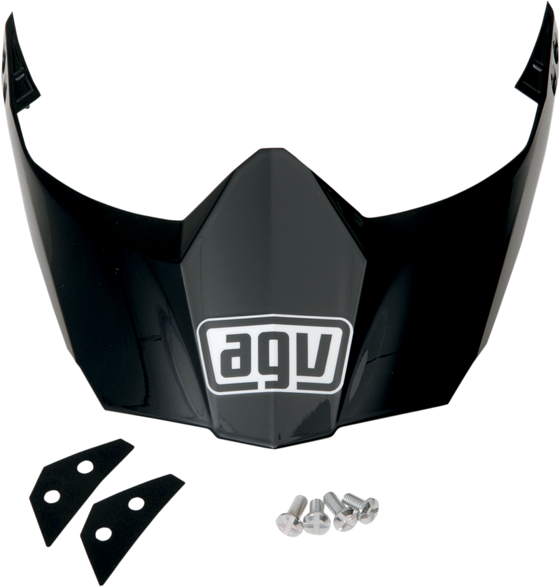 AGV AX-8 Dual Evo Helmet Peak - Hardcore Cycles Inc