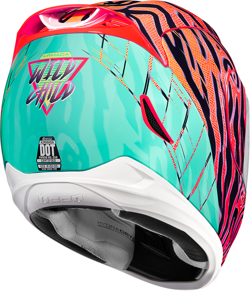 Icon Airmada™ Wildchild Helmet - Hardcore Cycles Inc