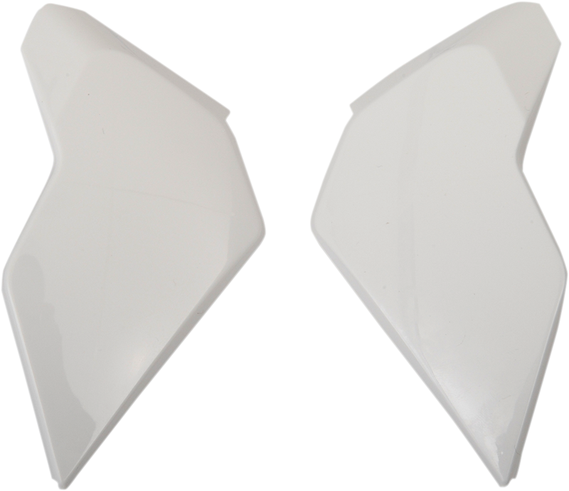 Icon Airflite™ Helmet Side Plates — Solid - Hardcore Cycles Inc