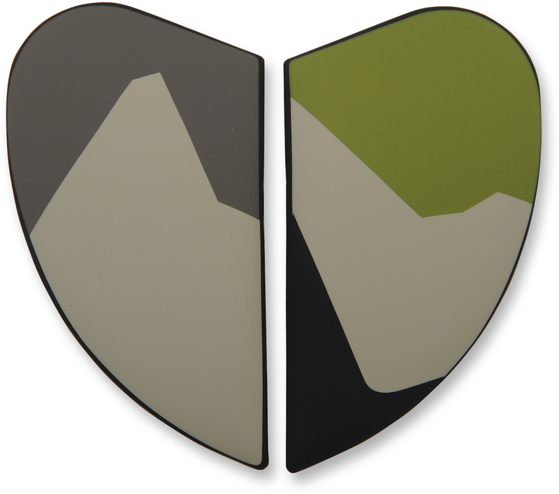 Icon Airframe Pro™ Helmet Side Plates — Camouflage - Hardcore Cycles Inc