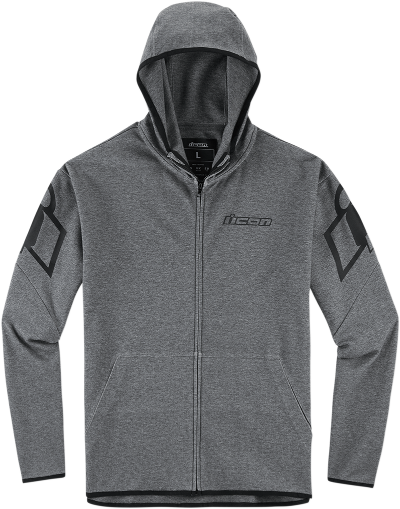 Icon Overlord™ Hoodie - Hardcore Cycles Inc