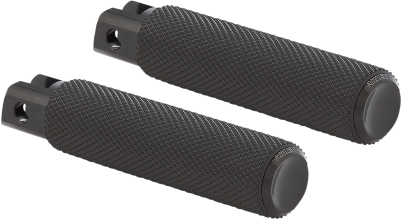 Arlen Ness Knurled Foot Peg - Hardcore Cycles Inc