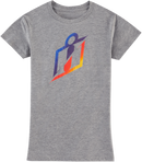 Icon Women's Gradient T-Shirt - Hardcore Cycles Inc