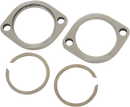 POLISHED STAINLESS EXHAUST FLANGE KITS FITS EVO, TC, and M8