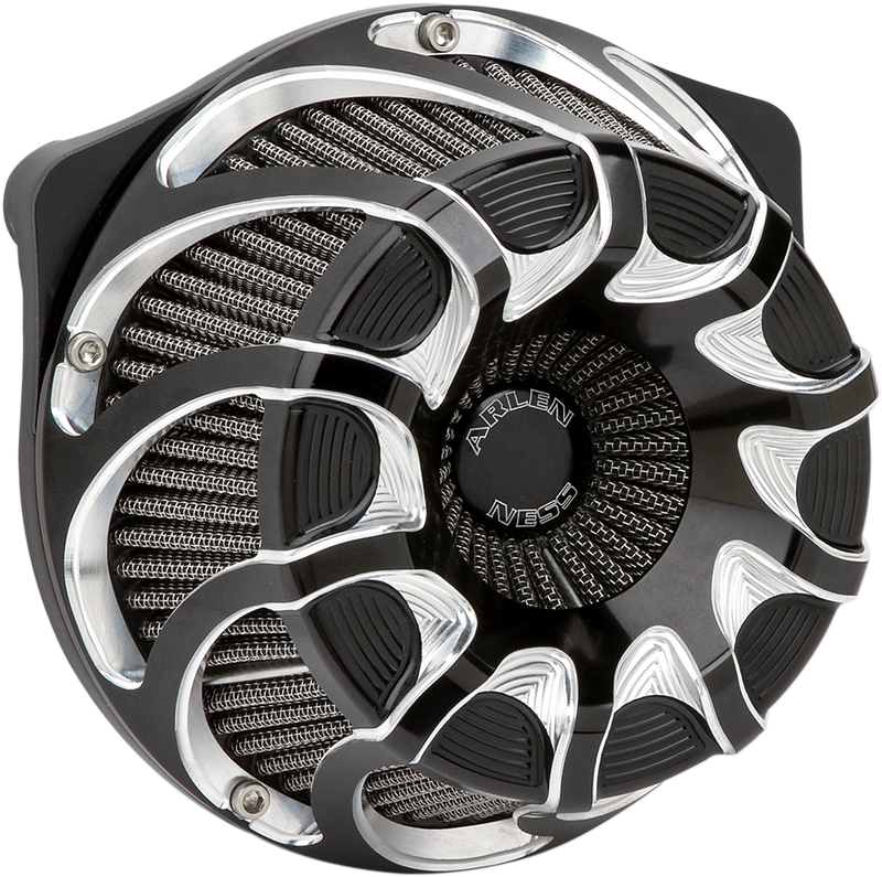 Arlen Ness Inverted Series Air Cleaner Kit — Drift - Hardcore Cycles Inc