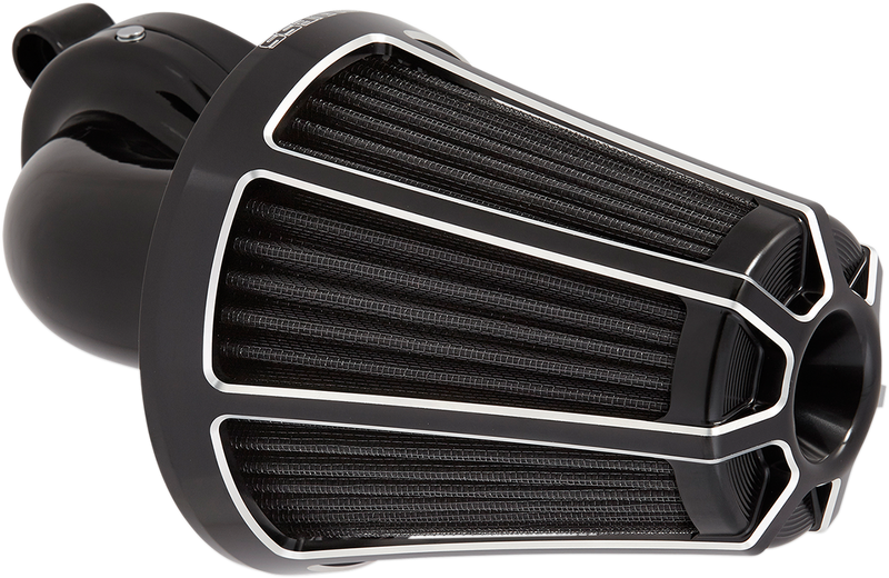 Arlen Ness Monster Sucker Air Cleaner Kit with Cover — Beveled - Hardcore Cycles Inc