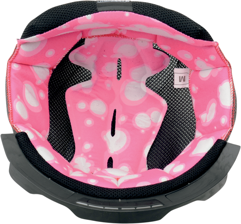 Icon Airframe™ Helmet Liner — Pink Champagne - Hardcore Cycles Inc
