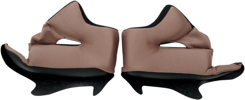 Icon Airframe™ Helmet Cheek Pads — Solid - Hardcore Cycles Inc