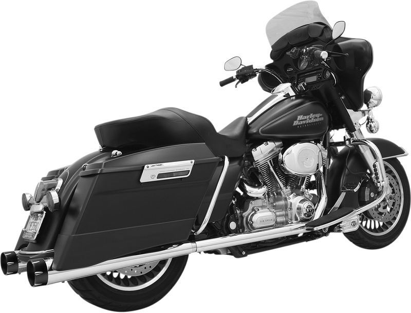 "Bassani 4"" Slip-On Muffler - Hardcore Cycles Inc"