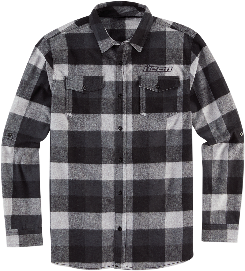 Icon Flannel Feller Shirt - Hardcore Cycles Inc
