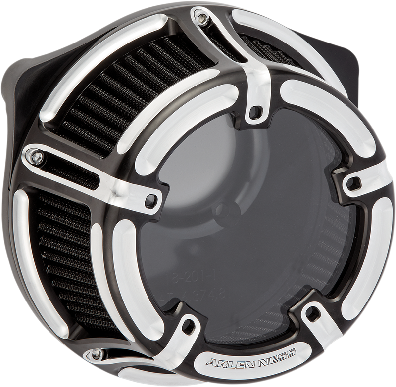 Arlen Ness Method Air Cleaner — Contrast Cut™ - Hardcore Cycles Inc