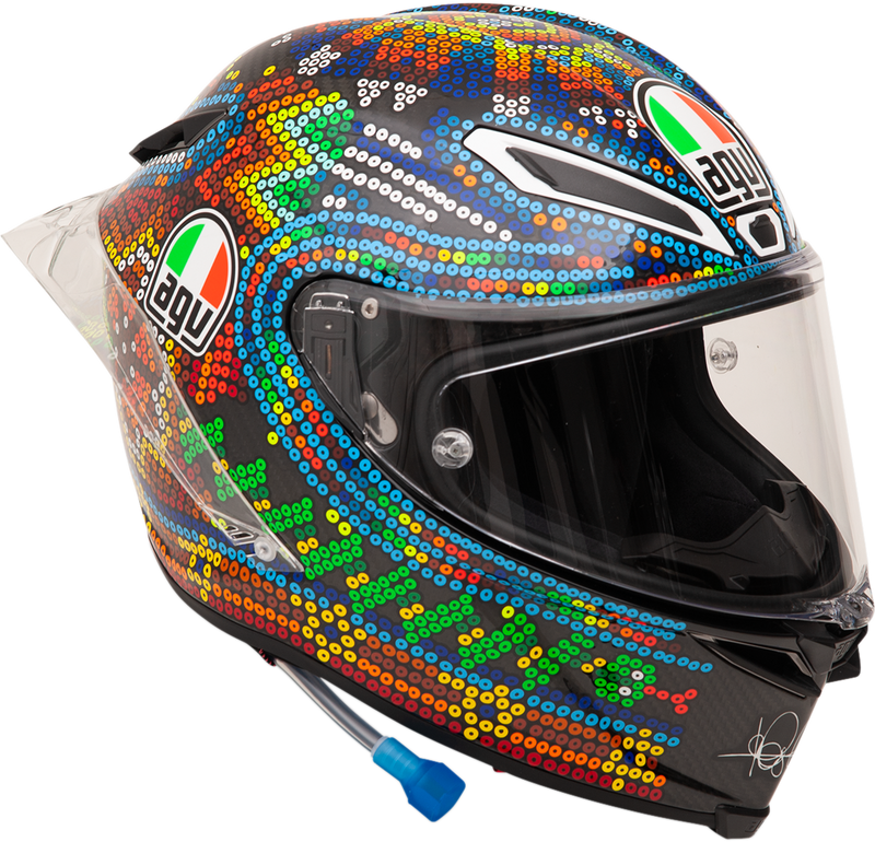 AGV Pista GP R Limited Edition Helmet — Winter Test - Hardcore Cycles Inc