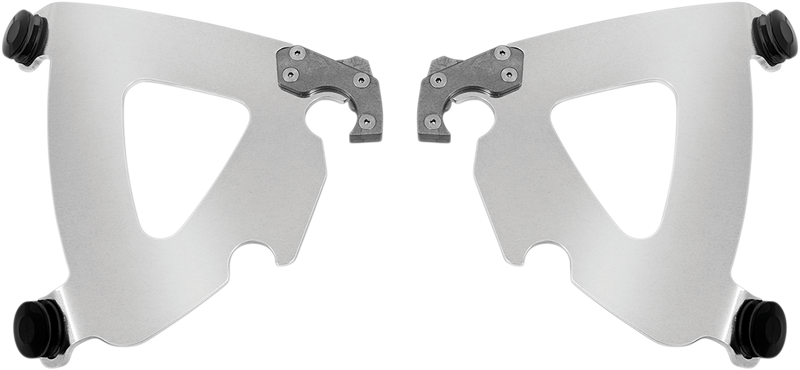 Memphis Shades Road Warrior Trigger Lock Plate Only Mount Kit - Hardcore Cycles Inc