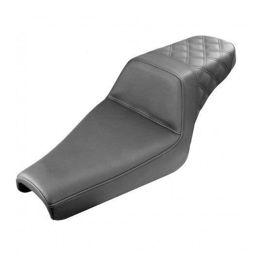 Sportster Step-Up LS™ Seat (Rear Only) Saddlemen 3.3gal - Hardcore Cycles Inc