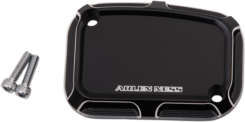 Arlen Ness Beveled Front Master Cylinder Cover - Hardcore Cycles Inc