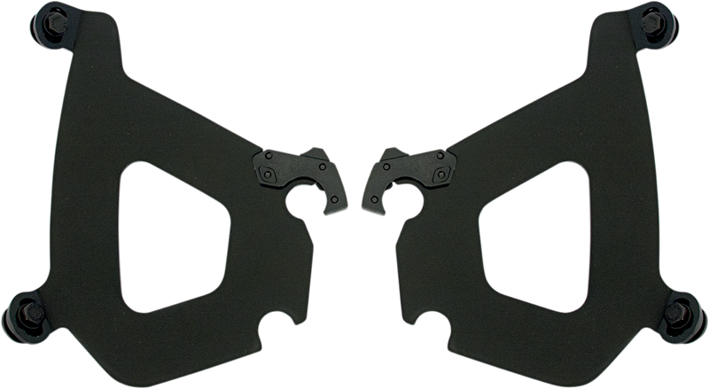 Memphis Shades Bullet Fairing Trigger-Lock Plate Only Kit - Hardcore Cycles Inc