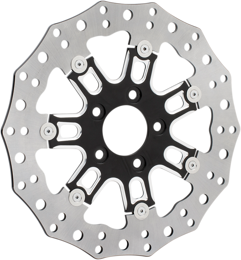 Arlen Ness Two-piece Floating Brake Rotor - Hardcore Cycles Inc