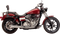 Supertrapp FatShot 2-into-1 Exhaust System for Dyna