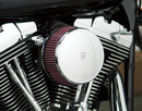 Arlen Ness Big Sucker Stage I Air Filter Kit with Standard Filter — Smooth - Hardcore Cycles Inc