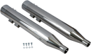 "Bassani 4"" DNT® Megaphone Muffler w/Acoustically Tuned Baffle for Bagger - Hardcore Cycles Inc"