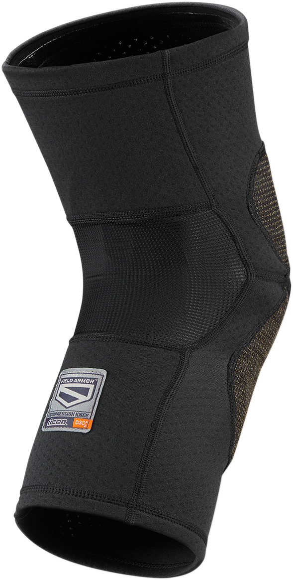 Icon FA Compression Knee Guards - Hardcore Cycles Inc