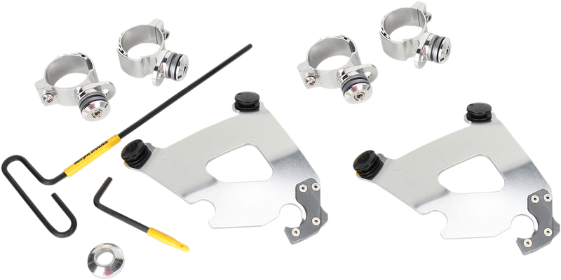 Memphis Shades Cafe Fairing Trigger-Lock Hardware Kit - Hardcore Cycles Inc