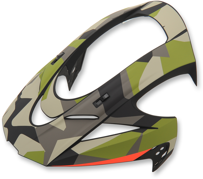 Icon Variant™ Helmet Visor — Deployed - Hardcore Cycles Inc
