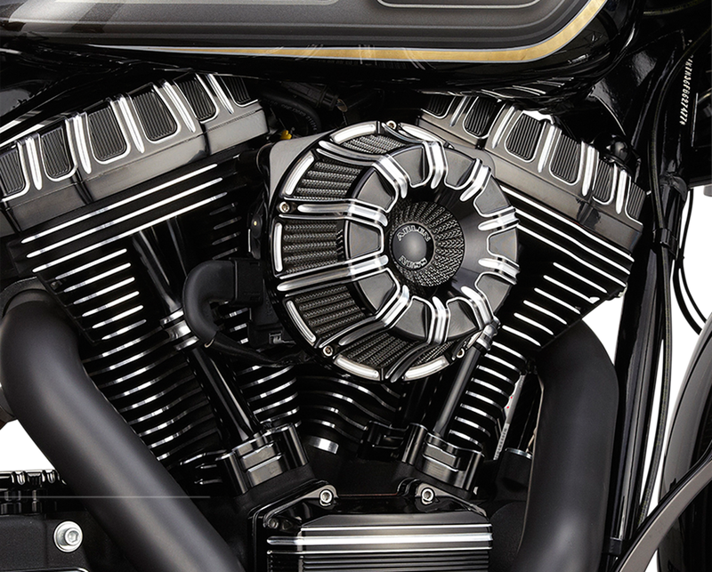 Arlen Ness Inverted Series Air Cleaner Kit — 10 Gauge - Hardcore Cycles Inc