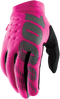 100% Women's Brisker Gloves