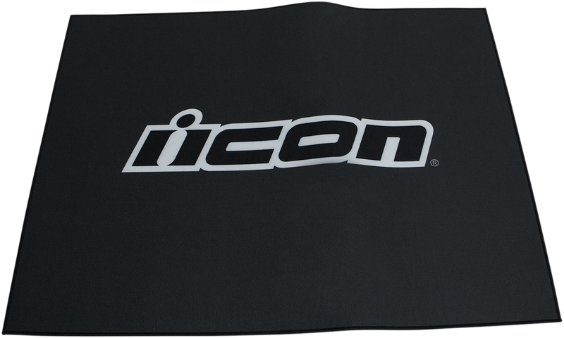 Icon Branded Floor Mat - Hardcore Cycles Inc