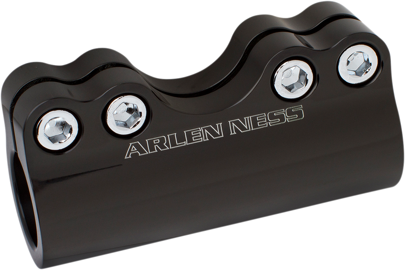 "Arlen Ness Modular Adjustable Handlebar Clamp for 1"" and 1-1/4"" Handlebars - Hardcore Cycles Inc"