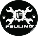 Feuling Gear Cross Logo Points Cover - Hardcore Cycles Inc