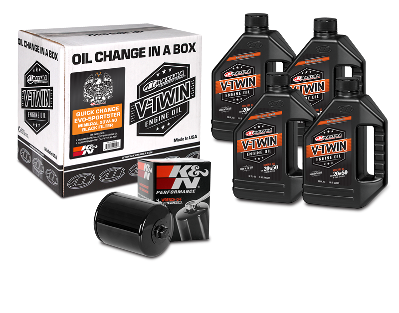 Maxima Racing Oil Change in a Box - Hardcore Cycles Inc