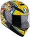 AGV K-3 SV Helmet — Bulega - Hardcore Cycles Inc