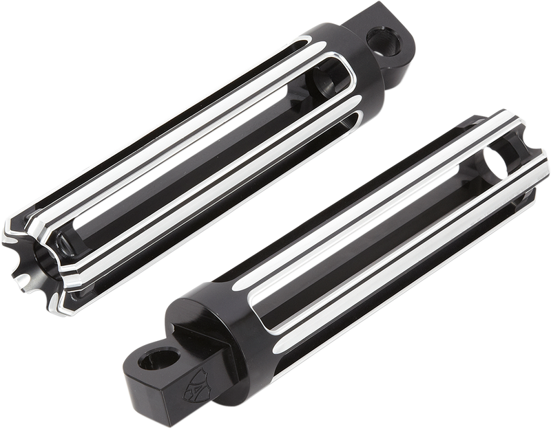 Arlen Ness 10-Gauge Male-Mount Footpegs - Hardcore Cycles Inc