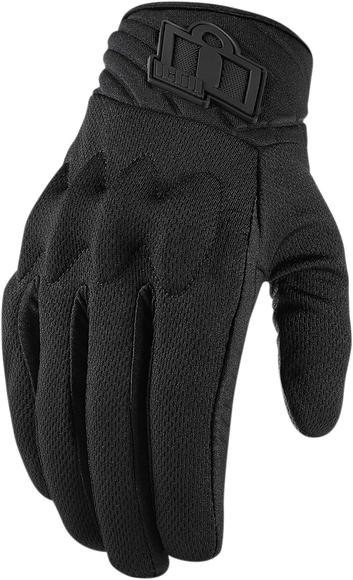 Icon Anthem 2 CE Stealth™ Gloves - Hardcore Cycles Inc