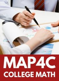 MAP4C - GRADE 12 FOUNDATIONS FOR COLLEGE MATHEMATICS