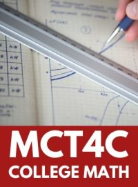 MCT4C - GRADE 12 MATHEMATICS FOR COLLEGE TECHNOLOGY