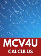MCV4U - GRADE 12 CALCULUS AND VECTORS
