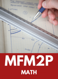 MFM2P - GRADE 10 FOUNDATIONS OF MATHEMATICS